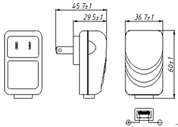 ac  dc adaptor 5v 6v 9v usb power adapter
